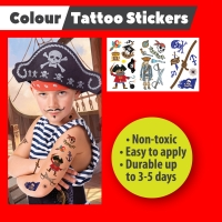 Tattoo Stickers - PIRATE