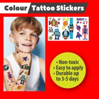 Tattoo Stickers - ROBOT