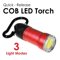 Quick Release COB LED Torch