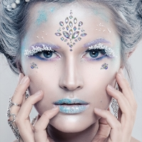 Face Jewels - Ice Queen