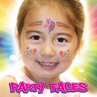 Party Faces - Glitter Unicorn