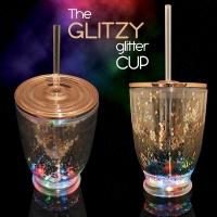 Glitzy Glitter Party Cup