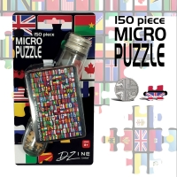 Micro Jigsaw in Test Tube