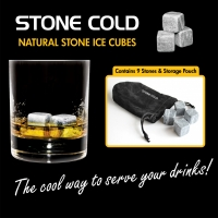 Stone Cold - Natural Stone Ice Cubes