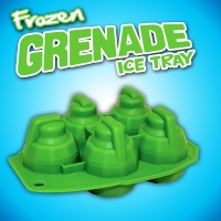 Frozen Grenade Ice Cube Tray