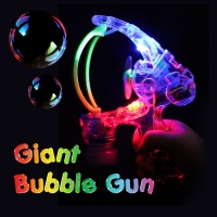 Giant LED Bubble Gun